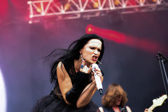 Tarja Turunen live in Hellfest festival 2016 Stock Images