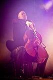 Tarja Turunen Performing Live at Aula Magna Stock Images