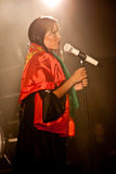 Tarja Turunen Performing Live at Aula Magna Royalty Free Stock Photo