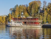 Tarjanne w małej łódki schronieniu Obrazy Royalty Free
