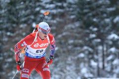 Tarjei Boe - biathlon Stock Images