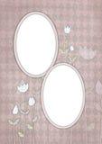 Tarjeta 01 de los cabritos stock de ilustración