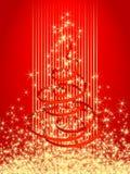 Tarjeta 2 de Navidad Foto de archivo