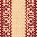 Tarjeta africana abstracta Foto de archivo libre de regalías