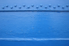 Tarjeta azul Foto de archivo