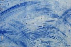 Tarjeta azul Imagen de archivo libre de regalías