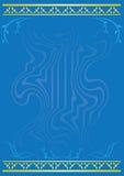 Tarjeta azul clara Imágenes de archivo libres de regalías