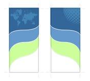 tarjeta bilateral del estante 4x9 Fotos de archivo