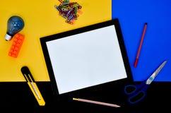 Tarjeta blanca. Imagen de archivo libre de regalías
