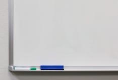 Tarjeta blanca Imagen de archivo