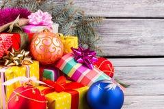 Tarjeta brillante del Año Nuevo Imágenes de archivo libres de regalías