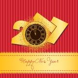 Tarjeta china feliz del Año Nuevo 2017 Imagenes de archivo