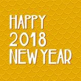 Tarjeta china feliz del Año Nuevo en estilo oriental Fotos de archivo
