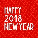 Tarjeta china feliz del Año Nuevo en estilo oriental Fotos de archivo libres de regalías