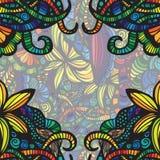 Tarjeta colorida moderna de la invitación. Fotografía de archivo libre de regalías