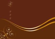 Tarjeta con el texto de la muestra - concepto del chocolate Ilustración del Vector