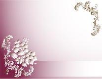 Tarjeta con una flor libre illustration
