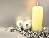 Tarjeta congratulatoria de la Navidad Foto de archivo libre de regalías