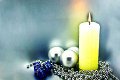 Tarjeta congratulatoria de la Navidad Imagen de archivo