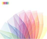 Tarjeta corporativa del arco iris abstracto libre illustration