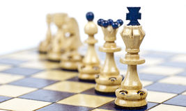 Tarjeta de ajedrez imágenes de archivo libres de regalías
