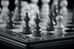 Tarjeta de ajedrez fotografía de archivo