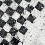 Tarjeta de ajedrez antigua imagenes de archivo