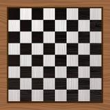 Tarjeta de ajedrez blanco y negro Fotografía de archivo libre de regalías