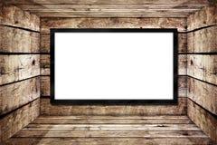 Tarjeta de anuncio en blanco Imágenes de archivo libres de regalías