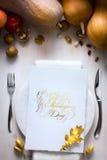 Tarjeta de Art Happy Thanksgiving Foto de archivo libre de regalías
