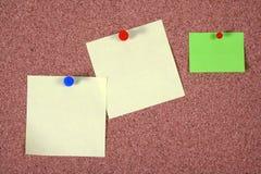 Tarjeta de aviso imágenes de archivo libres de regalías