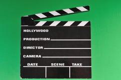 Tarjeta de chapaleta de la etiqueta de plástico de la película Foto de archivo