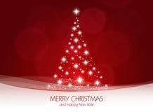 Tarjeta de Christmass Fotografía de archivo libre de regalías