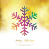 Tarjeta de Christmass Foto de archivo libre de regalías
