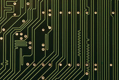 Tarjeta de circuitos 1 Imágenes de archivo libres de regalías
