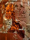 Tarjeta de circuitos Fotos de archivo libres de regalías
