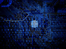 Tarjeta de circuitos Foto de archivo