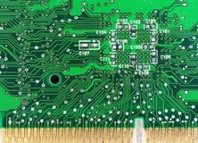 Tarjeta de circuitos Foto de archivo libre de regalías