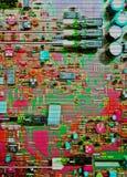 Tarjeta de circuitos Fotos de archivo
