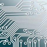 Tarjeta de circuitos ilustración del vector