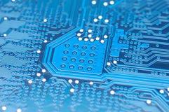 Tarjeta de circuitos azul