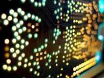 Tarjeta de circuitos de alta tecnología fotografía de archivo