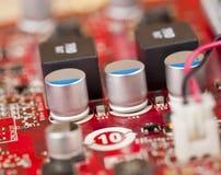 Tarjeta de circuitos de Electrictronic Imágenes de archivo libres de regalías