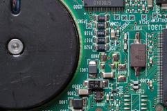 Tarjeta de circuitos de HDD fotos de archivo