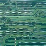Tarjeta de circuitos de ordenador Fotos de archivo libres de regalías