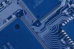Tarjeta de circuitos de ordenador Fotografía de archivo