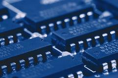 Tarjeta de circuitos de ordenador Imagenes de archivo