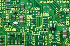 Tarjeta de circuitos de ordenador imagen de archivo libre de regalías
