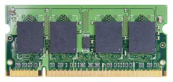 Tarjeta de circuitos del módulo del RAM Imagen de archivo libre de regalías