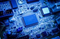 tarjeta de circuitos electrónicos Fotos de archivo libres de regalías